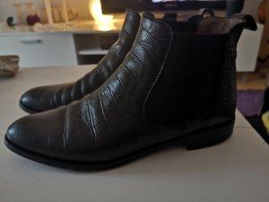 pertini chelsea boots kalbsleder 38,5 neuwertig