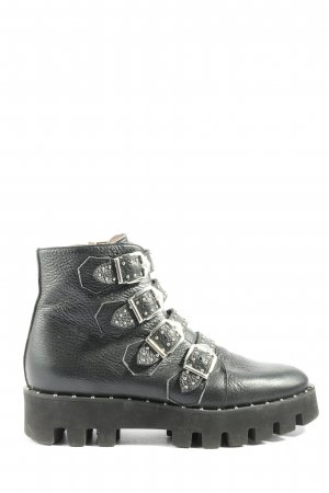 Pertini Chukka boot noir style décontracté