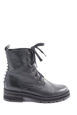 Pertini Krótkie buty czarny W stylu casual