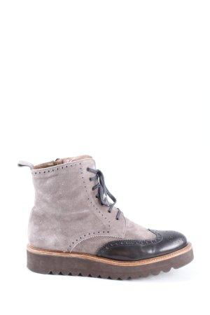 Pertini Botas bajas gris claro-negro look casual