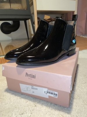 Pertini Lack Leder Ankle Boot