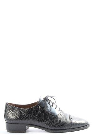 Pertini Scarpa Oxford nero stile casual
