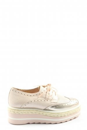 Pertini Oxford goldfarben-pink Casual-Look