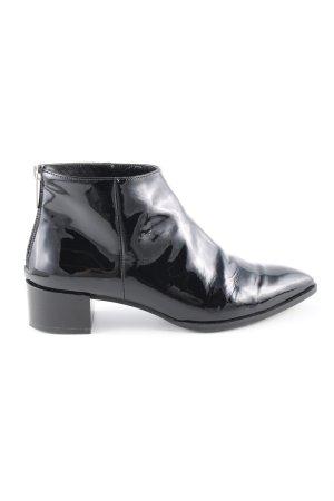 Pertini Reißverschluss-Stiefeletten schwarz Business-Look