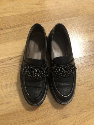 Pertini Pantoffels zwart