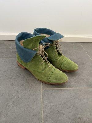 Pertini Schuhe Grün Blau Turnschuhe Sneaker Schuh Lässig