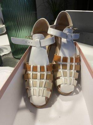Pertini Roman Sandals multicolored leather
