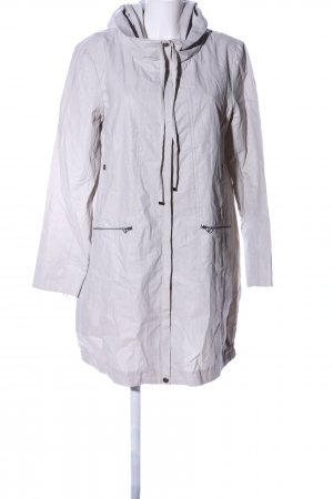 Peruvian Connection Hooded Coat light grey casual look