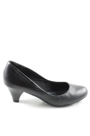 Pesaro High Heels schwarz Business-Look