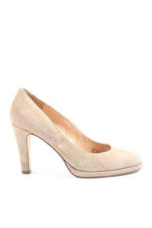 Pesaro High Heels wollweiß Casual-Look