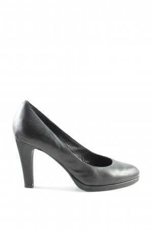 Pesaro Plateau-Pumps schwarz Business-Look