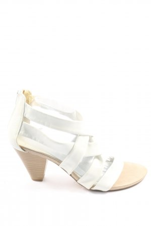 Pesaro Strapped High-Heeled Sandals white casual look