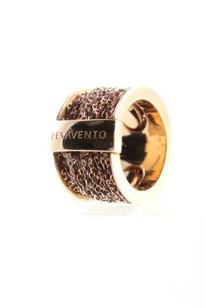 Pesavento Gouden ring roségoud zakelijke stijl