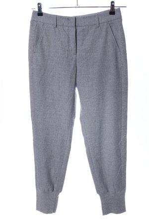 Peserico Pantalon de costume gris clair moucheté élégant