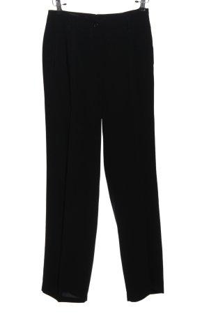 Peserico Pantalon «Baggy» noir style d'affaires