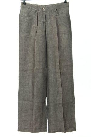 Peserico Spodnie garniturowe jasnoszary Melanżowy W stylu biznesowym