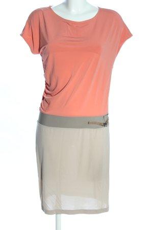 Peserico Shirtkleid pink-hellgrau Casual-Look