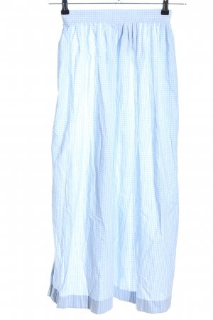 Peter Anderl Traditional Apron blue-white check pattern casual look