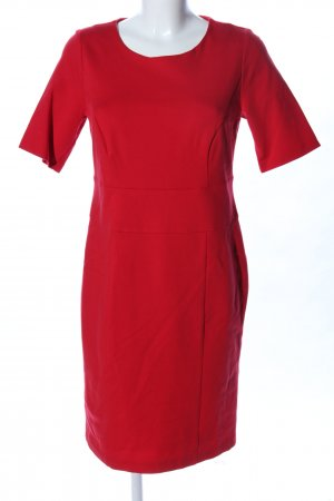 Peter Hahn A-Linien Kleid rot Business-Look