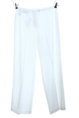 Peter Hahn Pantalon wit casual uitstraling