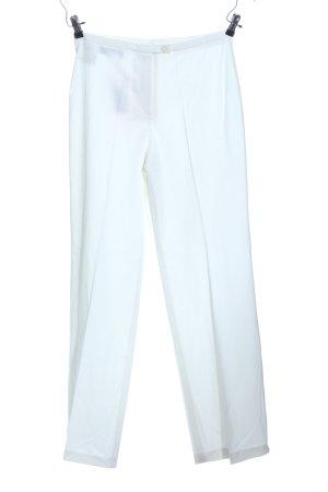 Peter Hahn Pantalon wit zakelijke stijl