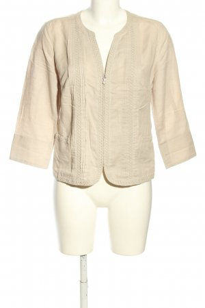 Peter Hahn Blusenjacke creme Business-Look