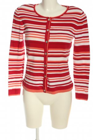 Peter Hahn Cardigan Streifenmuster Casual-Look