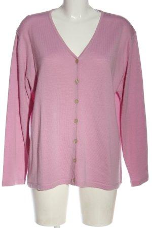 Peter Hahn Cardigan rosa stile casual