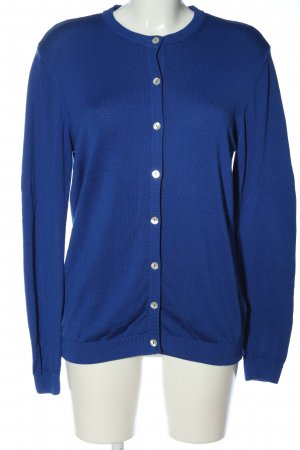 Peter Hahn Cardigan blu stile casual