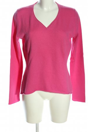 Peter Hahn Cashmerepullover pink Casual-Look