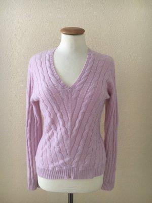 Peter Hahn Kaszmirowy sweter jasny różowy