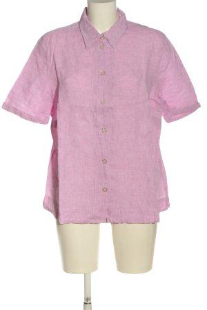 Peter Hahn Camicia a maniche corte rosa elegante