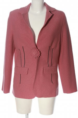 Peter Hahn Cappotto corto rosa stile casual