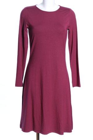 Peter Hahn Langarmkleid pink Casual-Look