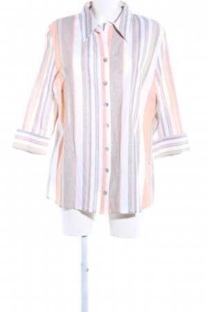 Peter Hahn Linen Blouse striped pattern casual look