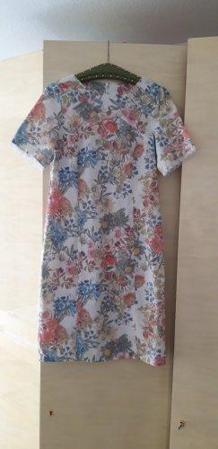 Peter Hahn Leinenkleid S 36 neu Sommerkleid Kleid  Blumen geblumt Leinen 36
