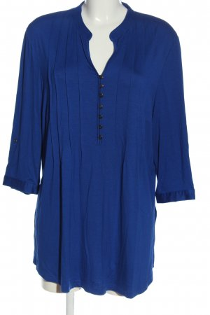 Peter Hahn Long-Bluse blau Casual-Look