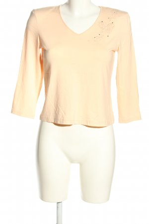 Peter Hahn Longsleeve creme Casual-Look