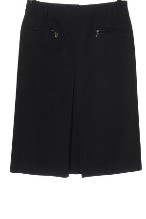 Peter Hahn Wool Skirt black casual look