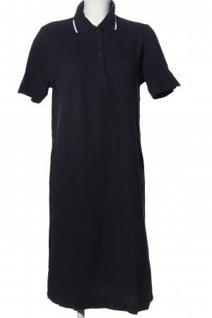 Peter Hahn Polo Dress black casual look