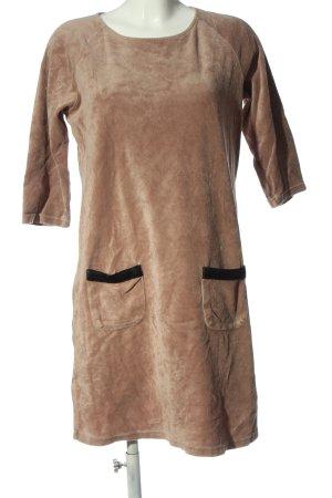 Peter Hahn Abito maglione marrone stile casual