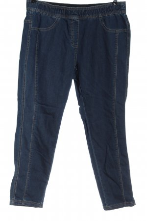 Peter Hahn Jeans a sigaretta blu stile casual
