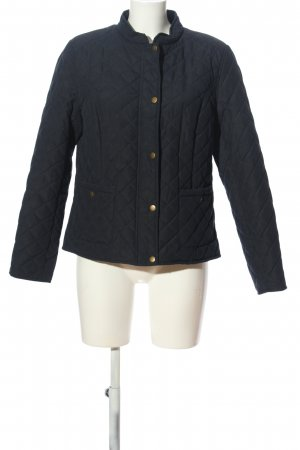 Peter Hahn Steppjacke blau Steppmuster Casual-Look