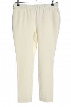 Peter Hahn Stoffhose creme Casual-Look