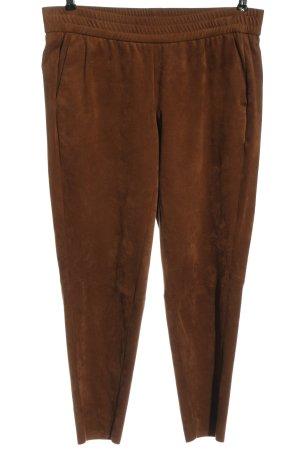 Peter Hahn Pantalone jersey marrone stile casual
