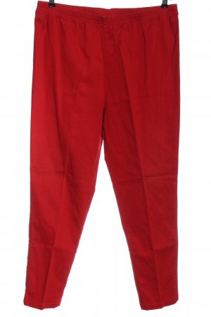 Peter Hahn Jeans a gamba dritta rosso stile casual
