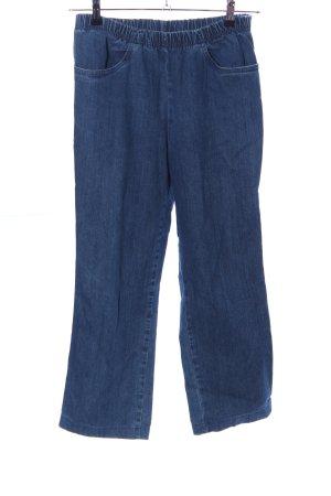 Peter Hahn Jeans stretch bleu style décontracté