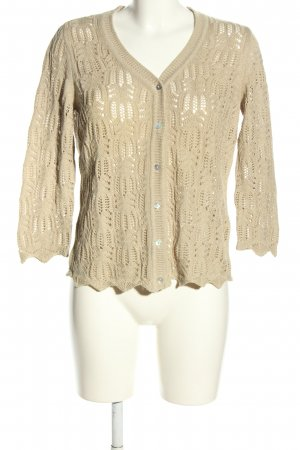 Peter Hahn Strickjacke creme Casual-Look