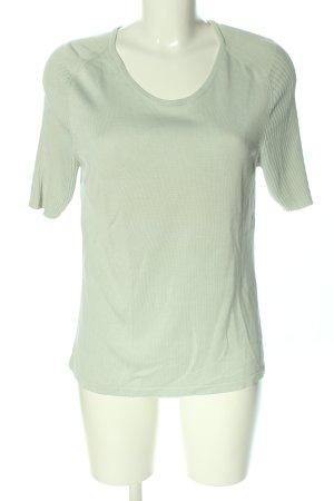 Peter Hahn T-shirts en mailles tricotées kaki style décontracté