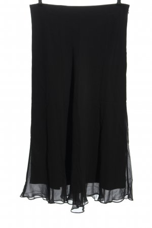 Peter Hahn Circle Skirt black casual look